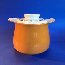 Poole English Pottery Bean Pot Covered Casserole Vintage Mid Century England