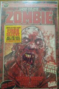 ZOMBIE 1 (2nd print) LUCIO FULCI EIBON PRESS HORROR COMIC BOOK GEMINI MAILER