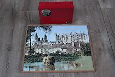 PUZZLE REX VERA Château de Loches Loire 650 Pièces Complet Vintage