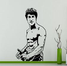 Bruce Lee Wall Vinyl Decal Film Actor Vinyl Sticker Martial Artist Home Decor 4