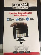 "Akamai Premium Desktop Computer Monitor Privacy Screen 22"""