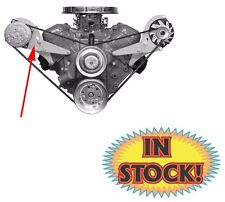 Alan Grove Low Profile A/C Compressor Bracket for Big Block Chevy with SWP 118R