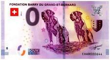 Billet Touristique - 0 Euro - Suisse - Fondation Barry (2018-2)