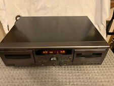 JVC TD-W317 Double Cassette Recording Deck Tape Player