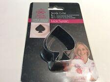 NUOVO con scatola nuovo metallo Spade Cutter Little Venice Cake Company Mich Turner ASSO DI PICCHE