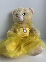 Build A Bear Disney's Beauty And The Beast Belle Plush in Ballroom Gown BABW