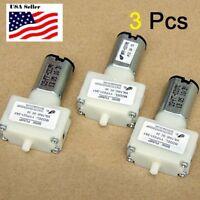 3Pcs DC 3V small Micro Mini Air Pump Micro Pressure Oxygen Pump micro pump
