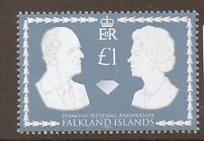 Falkland Islands SG1087 2007 Diamant mariages neuf sans charnière