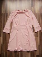 @ H&M @ Kleid rosa Size XL/2XL UK 14/16 US 12/14 Gr. 42/44  Glockenärmel NEU