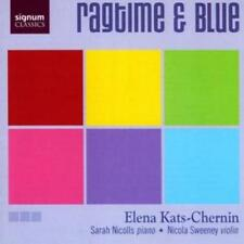 Elena Kats-Chernin : Ragtime and Blue (Nicolls, Sweeney) CD (2005) ***NEW***