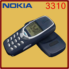 Classic Original Genuine Unlocked Nokia 3310 Fits ALL Sims SIM Mobile Phone