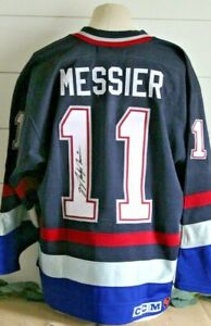 MARK MESSIER Signed Vancouver Canucks Authentic Vintage 1998 AS Game CCM Jersey
