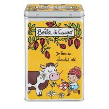 Boîte à cacao chocolat Olé - Derrière la porte