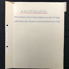 British Commonwealth Australian Territories States Collection Stamps Lot