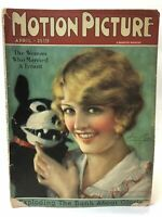 Motion Picture Magazine April 1926 Hollywood Stars Entertainment