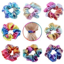10 Pcs Shiny Metallic Elastic Hair Ties Women Hair Scrunchies Ponytail Holder