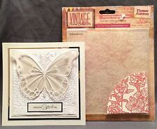 Flowers Garden embossing folder - Crafter's Companion Embossing Folders floral