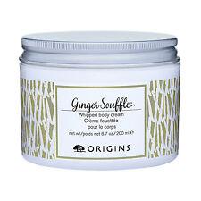 Origins Ginger Souffle Whipped Body Cream 200ml Skincare Relax Nourish Hydrate