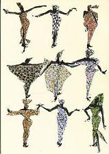 Alte Kunstpostkarte - Maria Mahlmann - Modeimpressionen