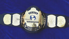 WWF 2mm Winged Eagle Wrestling Championship Adult Metal Replica Belt