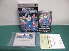 SNES -- CAPTAIN COMMANDO -- New. Super famicom. Japan game. 14903