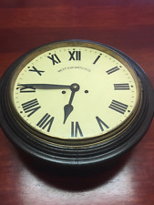 West End Watch Company- Wooden Wall Clock