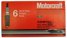 Motorcraft Spark Plugs Stock No. 6W4 AWSF44PP Pack of 6 New
