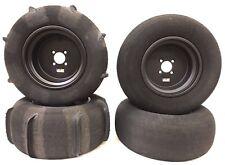 Skat Trak Extreme Paddle Tires DWT Ultimate Sport Matte Black Wheels YXZ1000