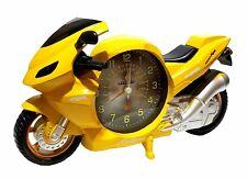 Motorrad Bike Biker Uhr Wecker Motorraduhr Motorradwecker Quarzuhr Quarzlaufwerk