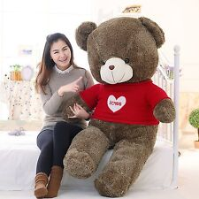 47'' Giant Big Teddy Bear Huge Stuffed Plush Soft Toys Doll Valentine Gifts Hot