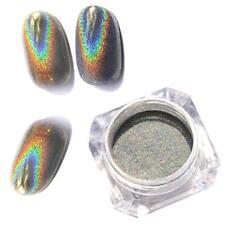 New Holographic Holo Chrome Glitter Powder Dust 3D Nail Art Decor Pretty DIY