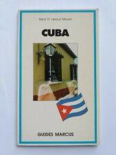 GUIDE MARCUS CUBA 1997
