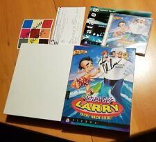Leisure Suit Larry yacht after Love * Signed by AL Lowe * IBM PC BIG BOX