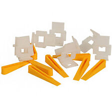 Vitrex LASH Floor Tile Levelling Spacers 30 Pack Spacing Wedges and Clips