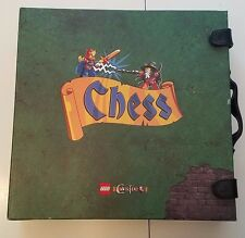 Complete LEGO Games Castle Chess Set (852001) RARE  FREE SHIPPING!