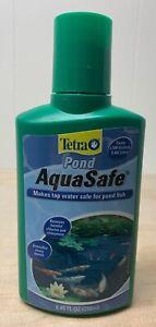 Tetra Pond Aqua Safe Water Conditioner, Makes Tap Safe. 8.45 Oz (250ml) NEW