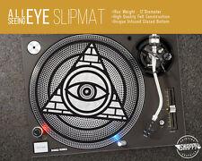 "All-Seeing Eye Turntable Slipmat - 12"" LP Record Player DJ Pad 16oz Felt"