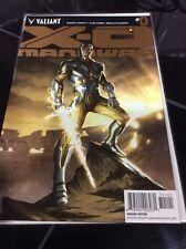 X-O MANOWAR  #0 Gold Variant Edition Valiant Comics !