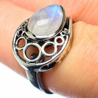 Rainbow Moonstone 925 Sterling Silver Ring Size 7 Ana Co Jewelry R27158F