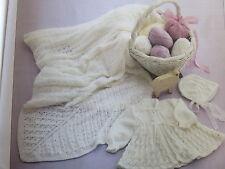 baby/ toddler knitting pattern babys shawl 3 ply