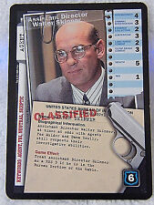 Assistant Director  Walter Skinner X-Files CCG Trading card 1996 XF96-0180v1  H3