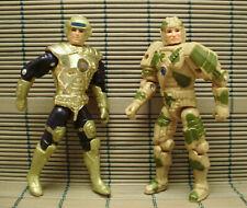 Vintage 1986 Mattel Captain Power & Tank Ellis Action Figures *L@@K!*