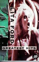 Lita Ford Greatest Hits 1993 Hard Classic Rock Roll Cassette Tape Pop