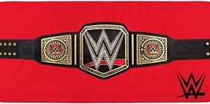 WWE Wrestlers Belt Towel 100% Cotton Beach Bath 140 x 70 cm
