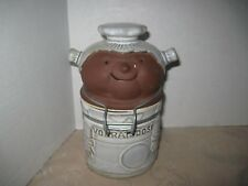 German African Cook Novelty Locking Lid Canister