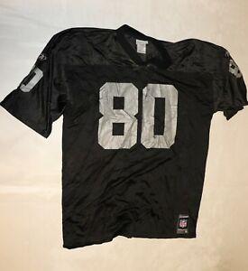 REEBOK Herren Trikot Jersey Gr. XL NFL OAKLAND RAIDERS #80 RICE