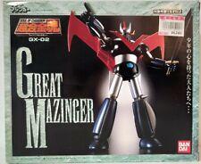 SOC Soul Of Chogokin GX-02 Great Mazinger  Bandai 1 stampa 1998 NEW