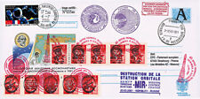 "Entier Postal RUSSIE-FRANCE ""Destruction de la STATION SPATIALE MIR"" 2001"
