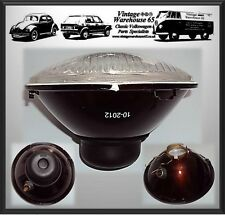 "Vintage Warehouse Domed Lensed 7"" Sealed Beam Halogen Conversion Headlight Unit"