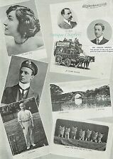 Evelyn Wrench Postcard Pioneer 1902 2 Page Photo Article A584